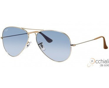 Ray Ban 3025 001/3F Aviator TM Large Metal