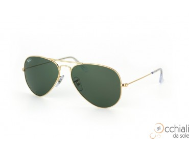 Ray Ban 3025 W3234 Aviator TM Large Metal