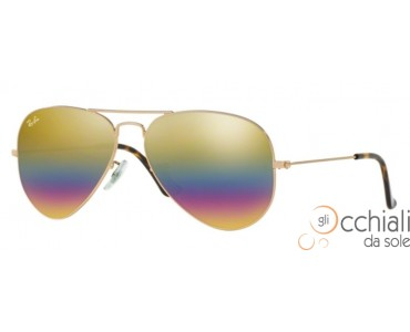 Ray Ban Aviator 3025 9020C4 Rainbow
